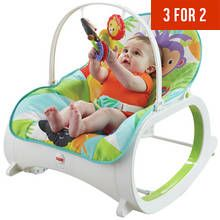 Fisher Price Infant To Toddler Rocker - Rainforest Best Price, Cheapest Prices