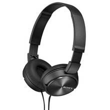 Sony ZX310 On-Ear Headphones - Black Best Price, Cheapest Prices