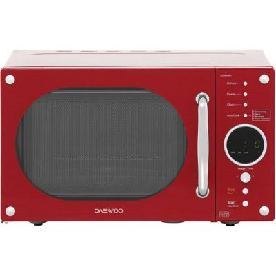 Daewoo KOR8A9RR 23 Litre Microwave - Red Best Price, Cheapest Prices