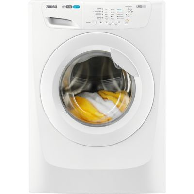 Zanussi Lindo300 ZWF01280W 10Kg Washing Machine with 1200 rpm - White - A+++ Rated Best Price, Cheapest Prices