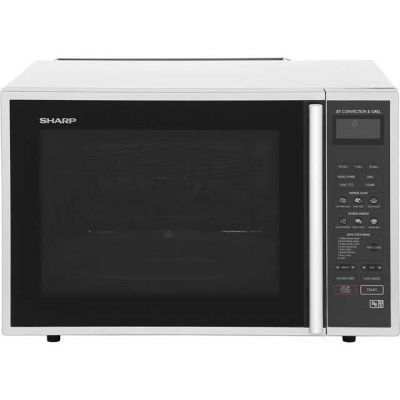 Sharp R959SLMAA 40 Litre Combination Microwave Oven - Silver / Black Best Price, Cheapest Prices