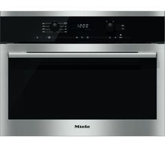 MIELE M6160TC Built-in Solo Microwave - Stainless Steel Best Price, Cheapest Prices