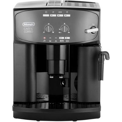 De'Longhi Caffe Corso ESAM2600 Bean to Cup Coffee Machine - Black Best Price, Cheapest Prices