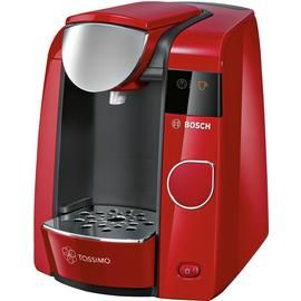 Tassimo by Bosch Joy Pod Coffee Machine - Red Best Price, Cheapest Prices