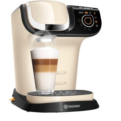 Tassimo by Bosch My Way 2 TAS6507GB Pod Coffee Machine - Cream Best Price, Cheapest Prices