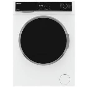 Sharp ES-HFH814QW3 8KG 1400 Spin Washing Machine - White Best Price, Cheapest Prices