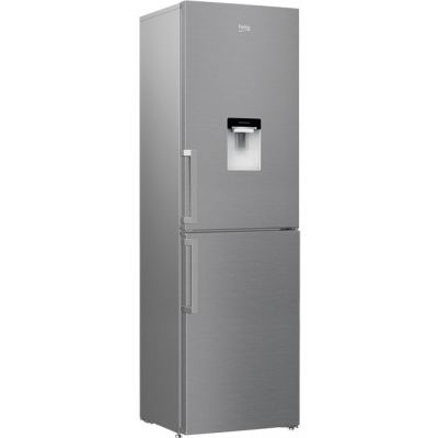 Beko CRFP1601DPS 50/50 Frost Free Fridge Freezer - Silver - A+ Rated Best Price, Cheapest Prices