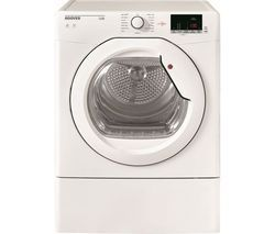 HOOVER Link HLV10DG NFC 10 kg Vented Tumble Dryer - White Best Price, Cheapest Prices