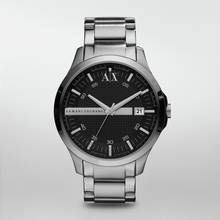 Armani Exchange Men's Silver Stainless Steel Watch