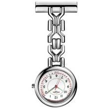 Rotary Nurses' Stainless Steel Fob Watch