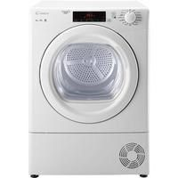Candy GSVC9TG 9kg Freestanding Condenser Tumble Dryer - White Best Price, Cheapest Prices
