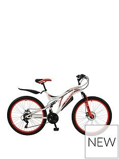 Boss Cycles Boss Ice White Ladies Mountain Bike 18 Inch Frame Best Price, Cheapest Prices