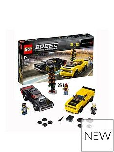 LEGO Speed Champions 2018 Dodge Challenger SRT Demon and 1970 Dodge Charger R/T Best Price, Cheapest Prices