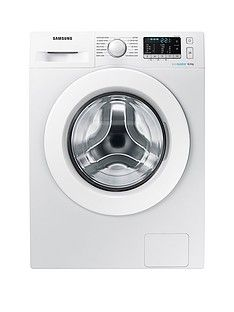 Samsung WW80J5355MW/EU 8kg Load, 1200 Spin Washing Machine  with ecobubble™ Technology and 5 Year Samsung Parts and Labour Warranty - White Best Price, Cheapest Prices