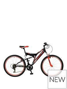 Boss Cycles Boss Venom Mens Steel Mountain Bike 18 Inch Frame Best Price, Cheapest Prices