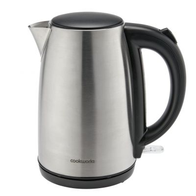 Cookworks Jug Kettle - Brushed Stainless Steel Best Price, Cheapest Prices