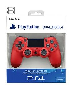 Playstation 4 DualShock 4 Wireless Controller V2 - Magma Red Best Price, Cheapest Prices