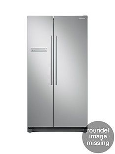 Samsung RS54N3103SA/EU American Style Frost Free Fridge Freezer with All-Around Coolingand 5 Year Samsung Parts and Labour Warranty - Graphite Best Price, Cheapest Prices