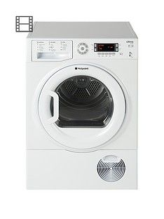 Hotpoint Ultima S-Line SUTCD97B6PM 9kg Sensor Condenser Tumble Dryer - White Best Price, Cheapest Prices