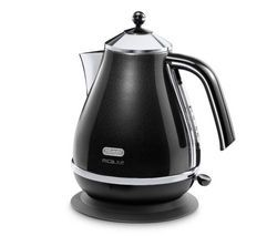 DELONGHI Micalite KBOM3001 Jug Kettle - Black Best Price, Cheapest Prices