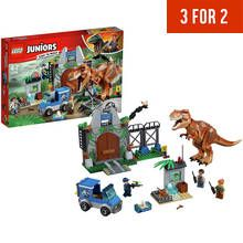 LEGO Juniors T-Rex Breakout Set - 10758 Best Price, Cheapest Prices