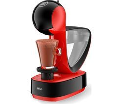 DOLCE GUSTO by De'Longhi Infinissima EDG260.R Coffee Machine - Red & Black Best Price, Cheapest Prices