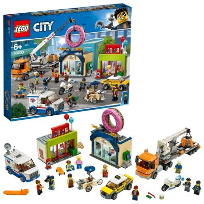 LEGO City Donut Shop Opening Playset - 60233 Best Price, Cheapest Prices