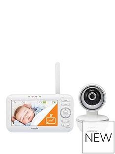 Vtech Vtech Safe And Sound 5 Video Baby Monitor Vm5261 Best Price, Cheapest Prices