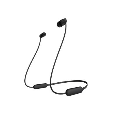 Sony WI-C200 In-Ear Wireless Headphones - Black Best Price, Cheapest Prices