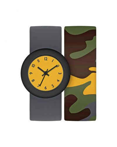 Tikkers Childrens Grey Snap Band Strap Watch Best Price, Cheapest Prices