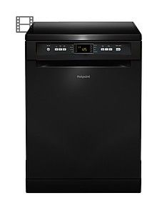 Hotpoint Extra FDFEX11011K Full-Size 13-Place Dishwasher A+ Energy Rating - Black  Best Price, Cheapest Prices