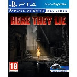 Here They Lie PSVR PS4 Game Best Price, Cheapest Prices