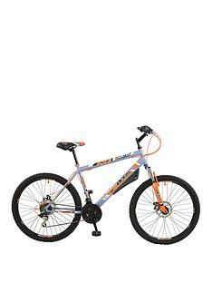 Boss Cycles Vortex Steel Mens Mountain Bike 18 inch Frame Best Price, Cheapest Prices
