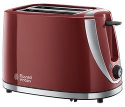 RUSSELL HOBBS Mode 21411 2-Slice Toaster - Red Best Price, Cheapest Prices