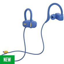 Jam Live Fast In-Ear Bluetooth Headphones - Blue Best Price, Cheapest Prices