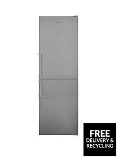 Candy CVNB6182XH5K 60cm Total No Frost Fridge Freezer - Stainless Steel Best Price, Cheapest Prices