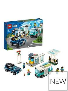 LEGO City 60257 Service Station SUV and Camper Van Best Price, Cheapest Prices