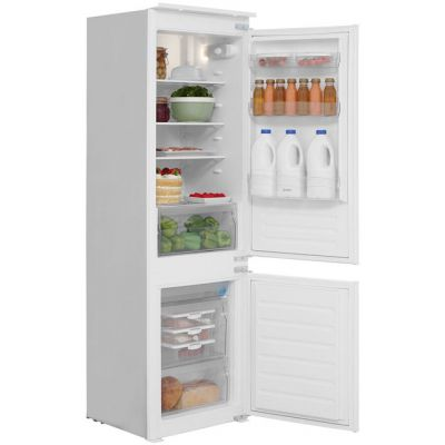 Indesit IB7030A1D Integrated 70/30 Fridge Freezer with Sliding Door Fixing Kit - White Best Price, Cheapest Prices