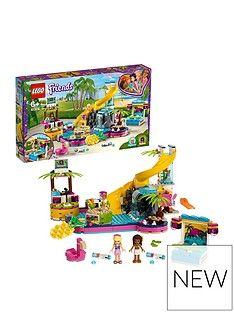 LEGO Friends 41374 Andrea's Pool Party Toy  Best Price, Cheapest Prices