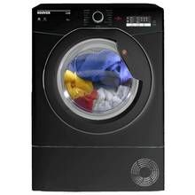 Hoover HLC8LGB 8KG Condenser Tumble Dryer - Black Best Price, Cheapest Prices