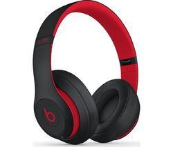 BEATS Decade Collection Studio 3 Wireless Bluetooth Noise-Cancelling Headphones - Red & Black Best Price, Cheapest Prices