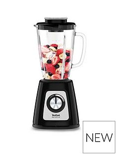 Tefal BL435140 Blendforce II Glass Blender - Black Best Price, Cheapest Prices