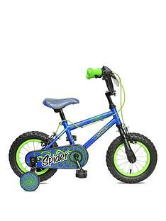Concept Concept Spider 8.5 Inch Frame 12 Inch Wheel Mountain Bike Blue Best Price, Cheapest Prices