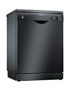 Bosch Serie2SMS25AB00G 12-PlaceDishwasher with ActiveWater™ Technology -Black
