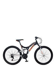 Bronx Ghetto Dual Suspension 18-Speed Mens Mountain Bike 18 inch Frame Best Price, Cheapest Prices