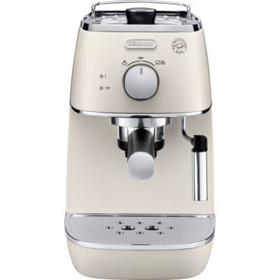 De'Longhi Distinta ECI341.W Espresso Coffee Machine - White Best Price, Cheapest Prices
