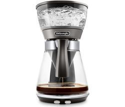 DELONGHI Clessidra ICM17210 Filter Coffee Machine - Silver Best Price, Cheapest Prices