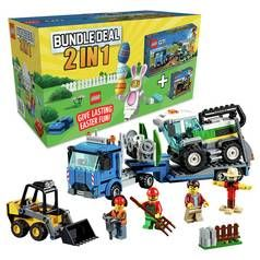 LEGO City Bundle, Harvester Transport and Loader Toy Truck Best Price, Cheapest Prices