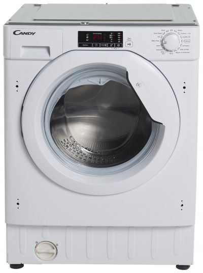 Candy CBWM 816S 8KG 1600 Spin Integrated Washing Machine Best Price, Cheapest Prices
