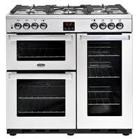 Belling Cookcentre 90DFT Professional 90cm Dual Fuel Range Cooker Best Price, Cheapest Prices